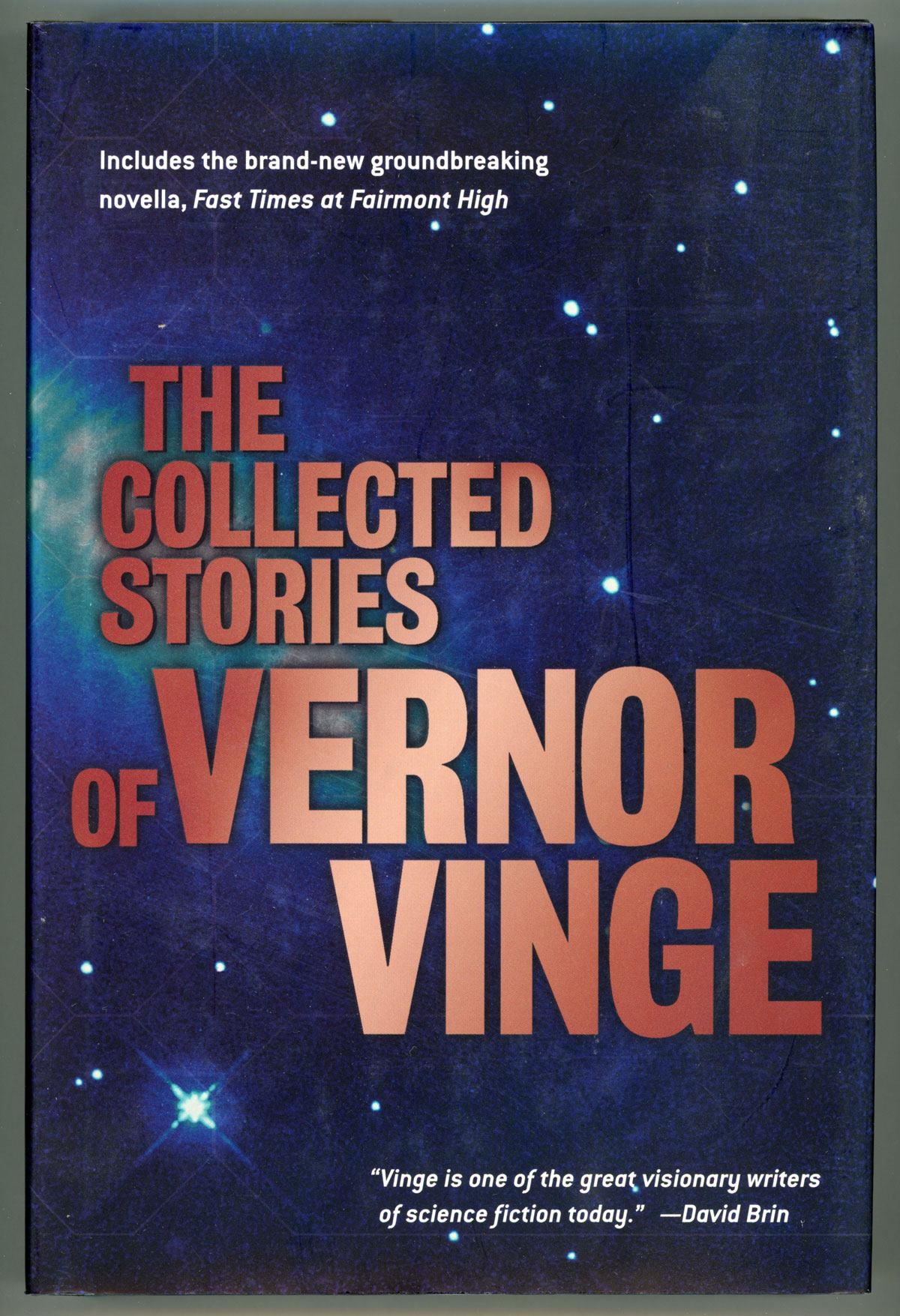 the collected stories of vernor vinge vernor vinge first edition