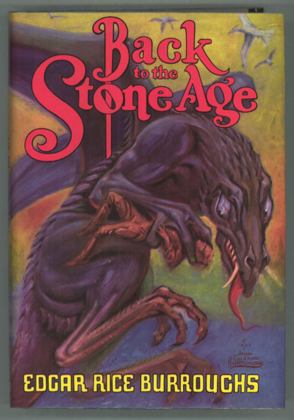 Back To The Stone Age Edgar Rice Burroughs First Edition border=