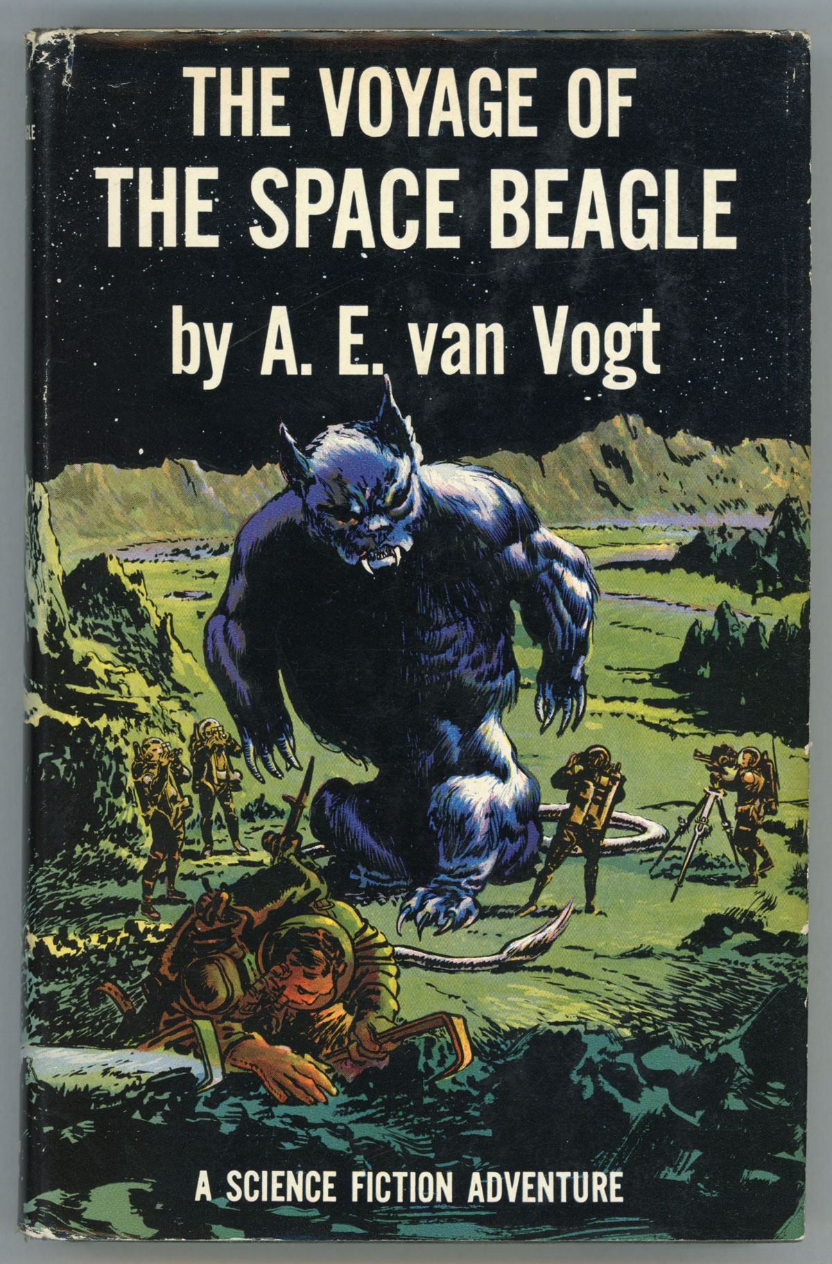 THE VOYAGE OF THE SPACE BEAGLE | Van Vogt | First edition