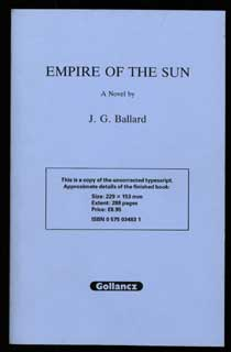 EMPIRE OF THE SUN. Ballard.