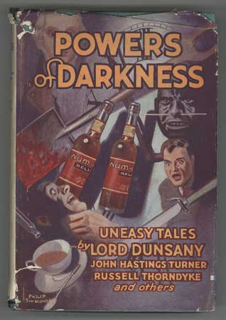 POWERS OF DARKNESS: A COLLECTION OF UNEASY TALES. Charles Lloyd Birkin.