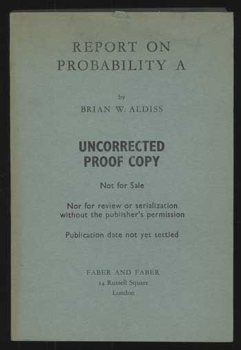 REPORT ON PROBABILITY A. Brian Aldiss.