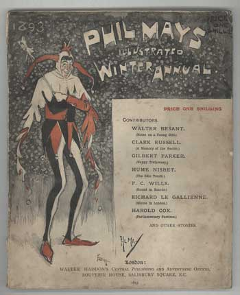PHIL MAY'S ILLUSTRATED WINTER ANNUAL 1893., not credited, Number 3.
