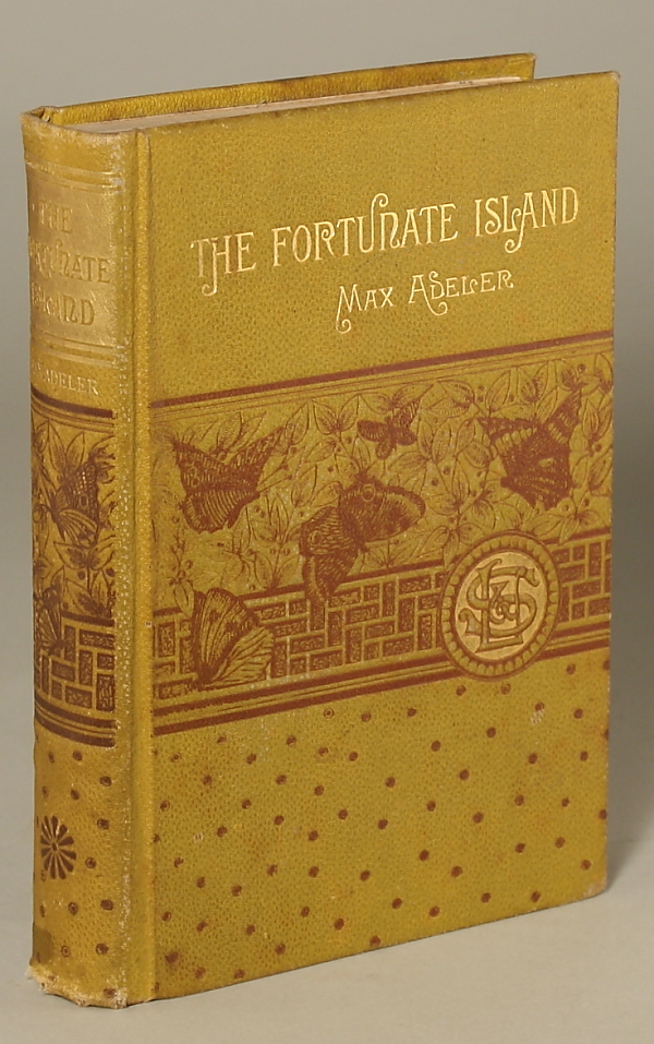 THE FORTUNATE ISLAND AND OTHER STORIES. Max Adeler, Charles Heber Clark.