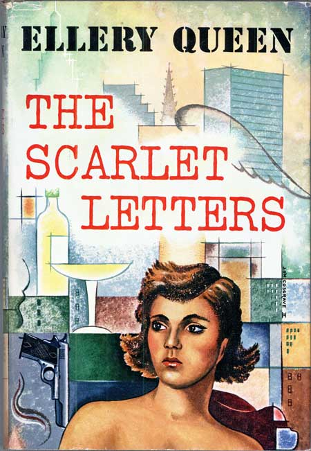 THE SCARLET LETTERS. Frederic Dannay, Manfred B. Lee.