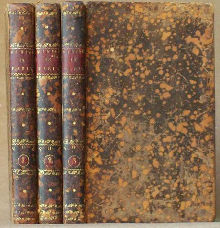 A WINTER IN PARIS; OR MEMOIRS OF MADAME DE C****; WRITTEN BY HERSELF. IN THREE VOLUMES. Anonymous.