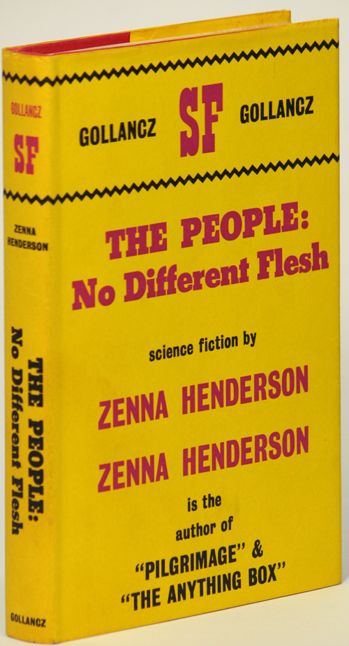 THE PEOPLE: NO DIFFERENT FLESH. Zenna Henderson.