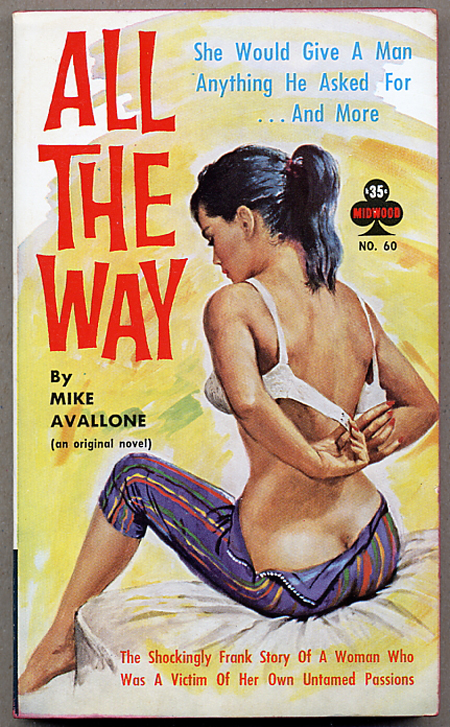 ALL THE WAY. Michael Avallone.