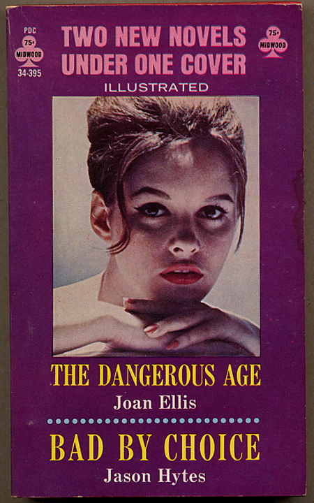 THE DANGEROUS AGE [bound with] BAD BY CHOICE. Frank Frazetta, Joan Ellis, Jason Hytes.