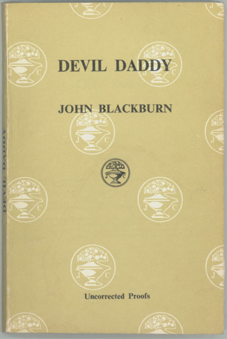 DEVIL DADDY. John Blackburn.