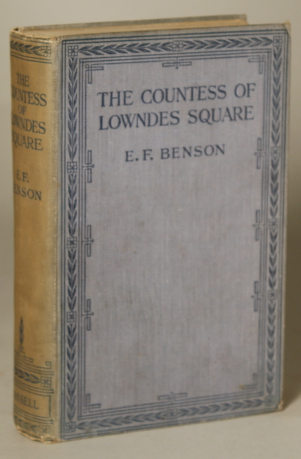 THE COUNTESS OF LOWNDES SQUARE AND OTHER STORIES. Benson.
