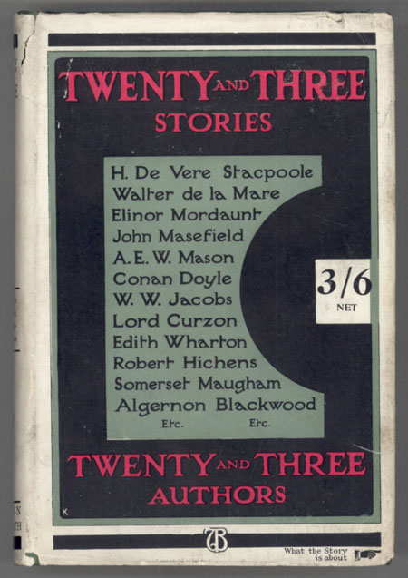 TWENTY AND THREE STORIES BY TWENTY AND THREE AUTHORS.