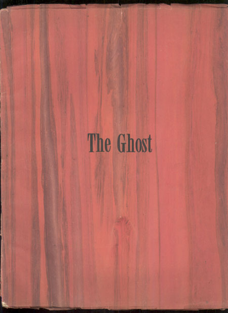 THE. Spring 1943 . GHOST, W. Paul Cook, number 1.