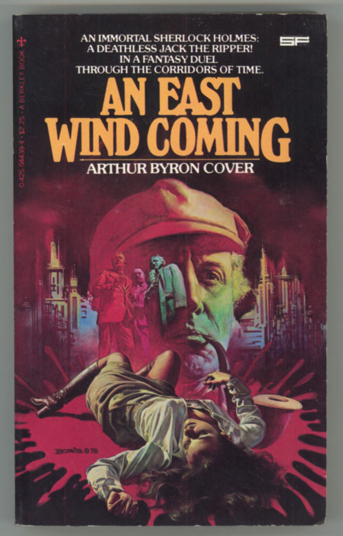 AN EAST WIND COMING. Cover, ron.