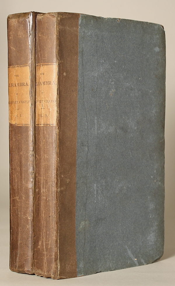THE ALHAMBRA. By Geoffrey Crayon [pseudonym] ... In Two Volumes. Washington Irving.