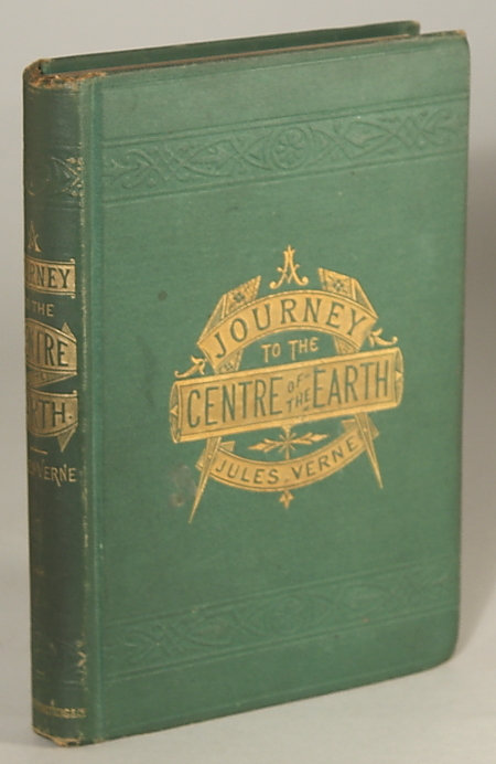 A JOURNEY TO THE CENTRE OF THE EARTH. Jules Verne.