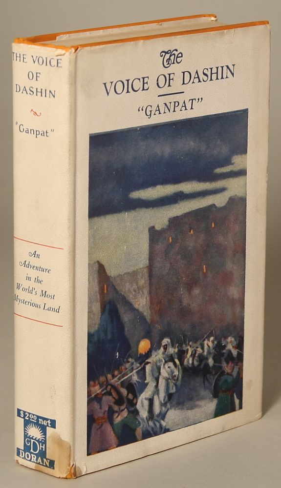 THE VOICE OF DASHIN: A ROMANCE OF WILD MOUNTAINS. Ganpat, Martin L. Gompertz.