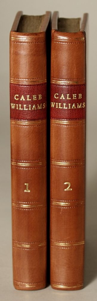 THINGS AS THEY ARE: OR, THE ADVENTURES OF CALEB WILLIAMS. William Godwin.