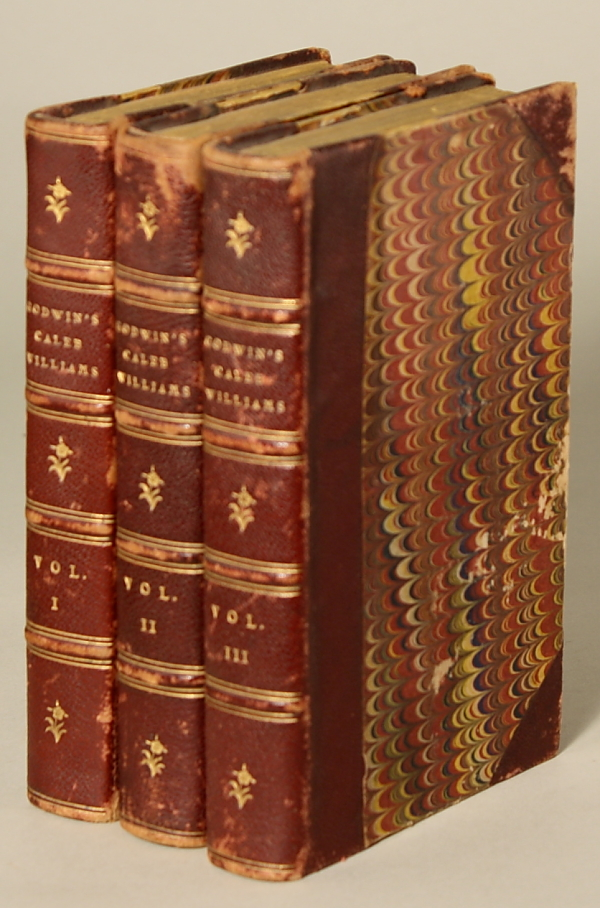 THINGS AS THEY ARE; OR, THE ADVENTURES OF CALEB WILLIAMS ... The Second Edition Corrected. William Godwin.