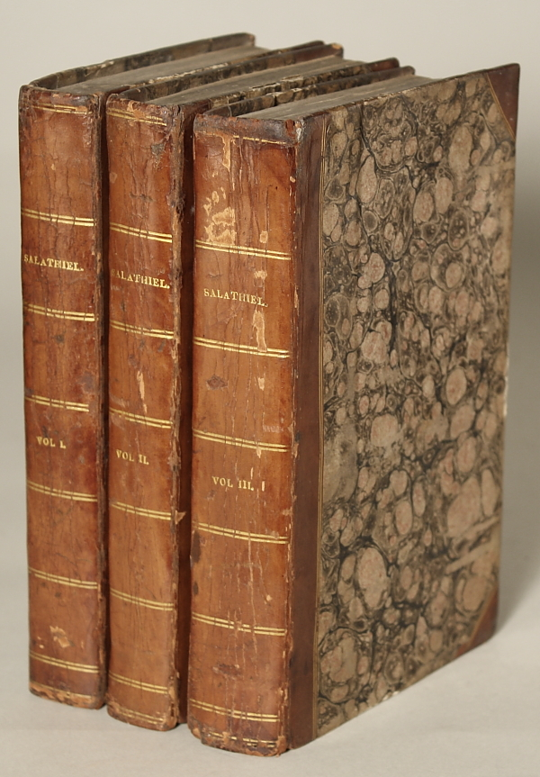 SALATHIEL. A STORY OF THE PAST, THE PRESENT, AND THE FUTURE. In Three Volumes. George Croly.