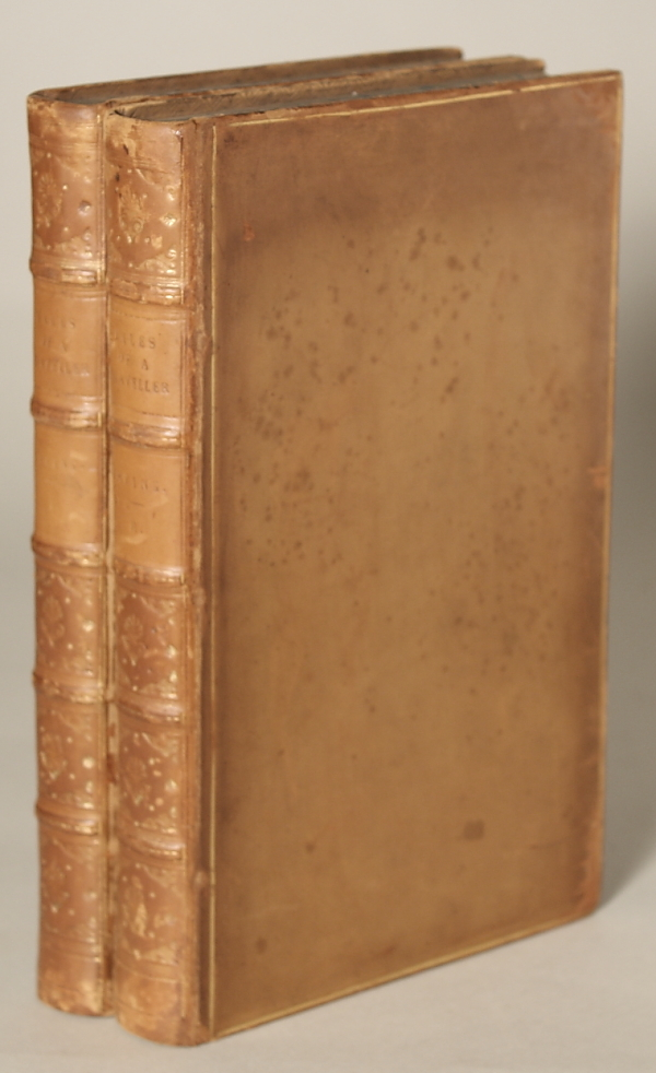 TALES OF A TRAVELLER. By Geoffrey Crayon, Gent. [pseudonym] ... In Two Volumes. Washington Irving.