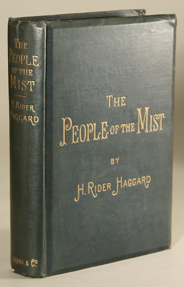 THE PEOPLE OF THE MIST. Haggard, Rider.
