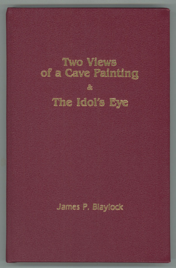TWO VIEWS OF A CAVE PAINTING & THE IDOL'S EYE ... ESCAPE FROM KATHMANDU. James P. Robinson Blaylock, Kim Stanley.