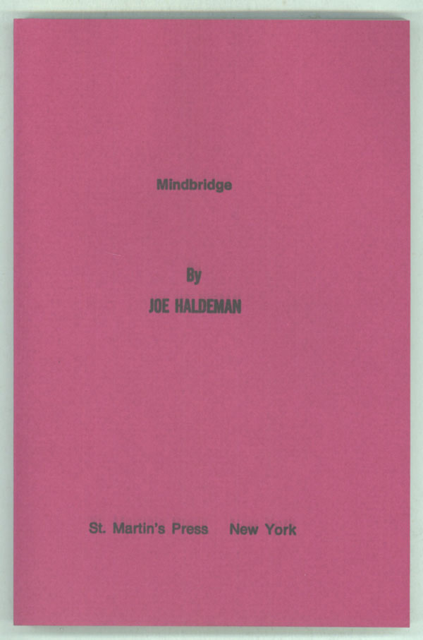 MINDBRIDGE. Joe Haldeman.