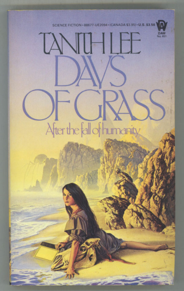 DAYS OF GRASS. Tanith Lee.