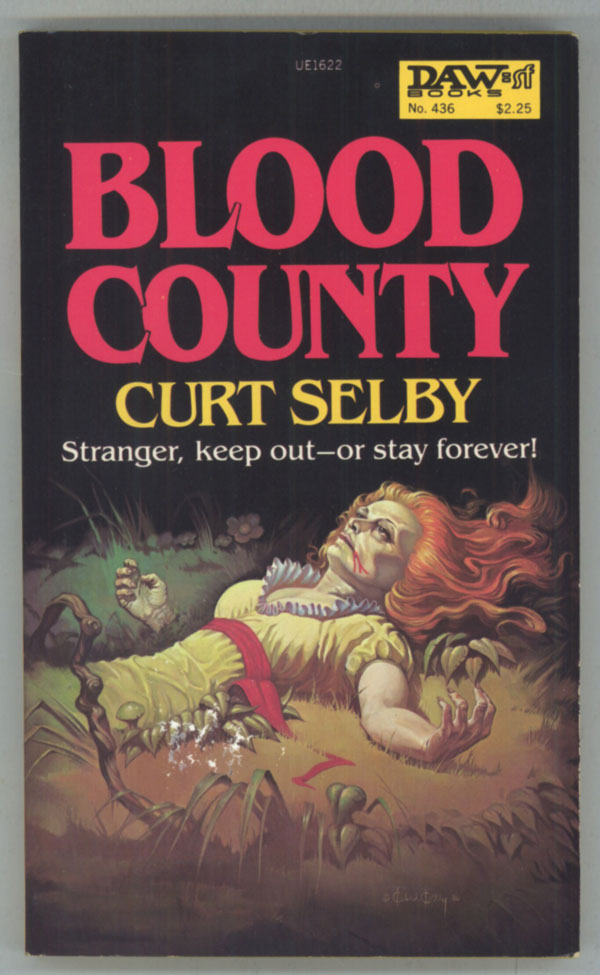 "BLOOD COUNTY. Doris Piserchia, ""Curt Selby."""