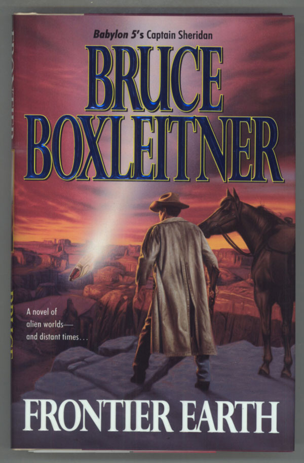 FRONTIER EARTH. Bruce Boxleitner.