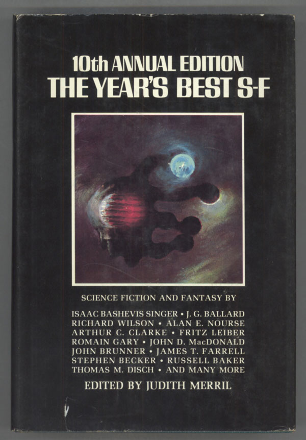 THE 10TH ANNUAL EDITION OF THE YEAR'S BEST SF. Judith Merril.