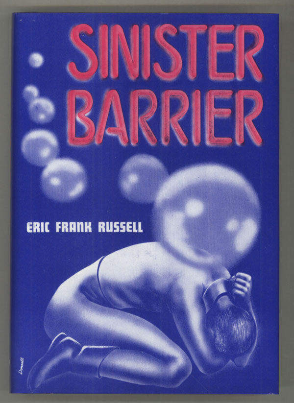 SINISTER BARRIER. Eric Frank Russell.