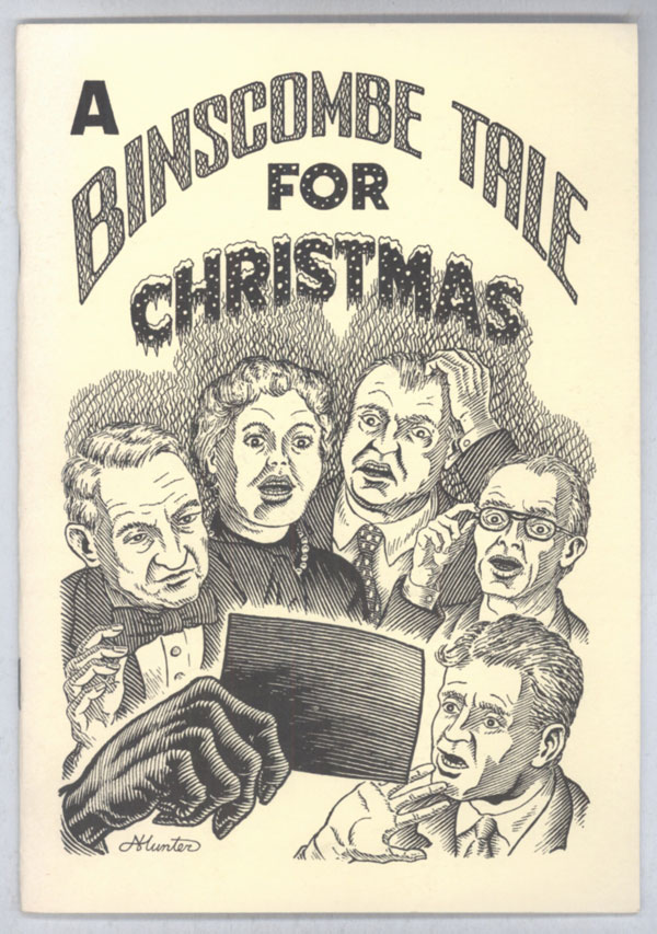 "A BINSCOMBE TALE FOR CHRISTMAS [""ONLY ONE CAREFUL OWNER""]. John Whitbourn."
