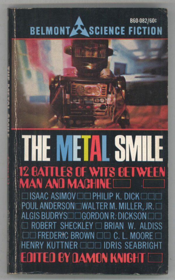THE METAL SMILE. Damon Knight.