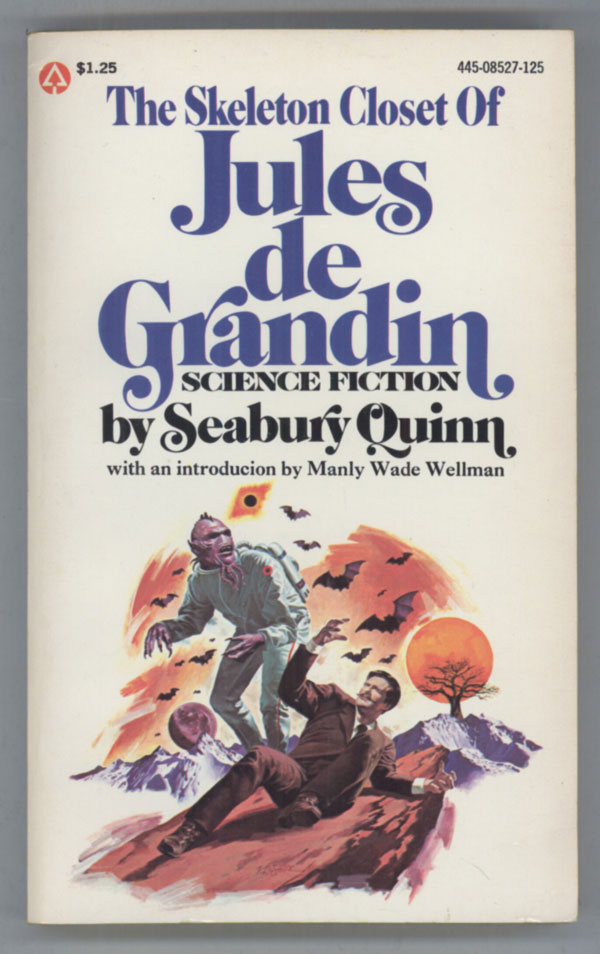THE SKELETON CLOSET OF JULES DE GRANDIN. Seabury Quinn.