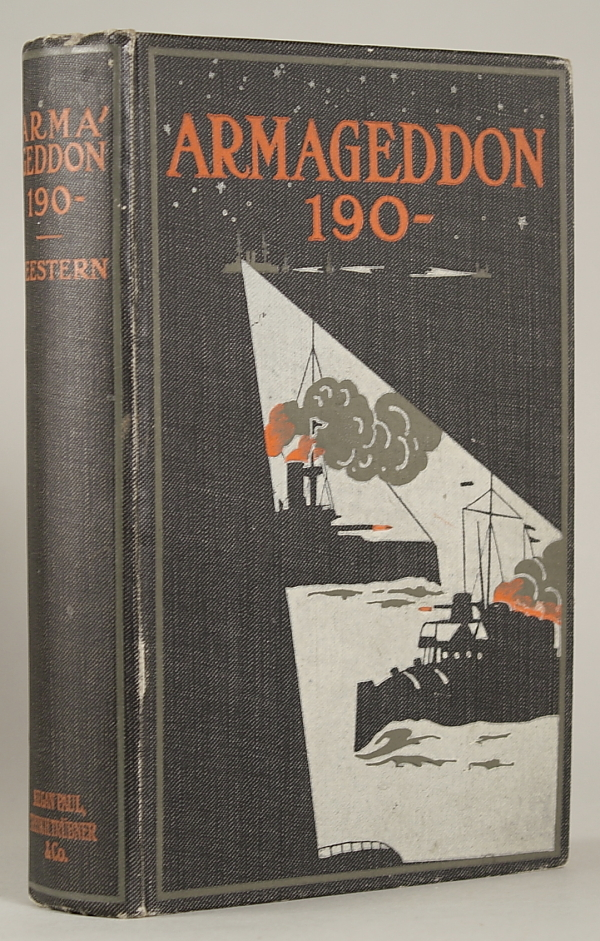 "ARMAGEDDON 190 -- by Seestern [pseudonym]. Authorized Translation by G. Herring. With an Introduction by Admiral the Hon. Sir E. R. Fremantle, G.C.B. Ferdinand H. Grautoff, ""Seestern."""