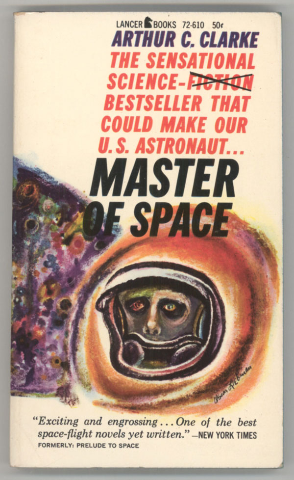 MASTER OF SPACE. Arthur C. Clarke.