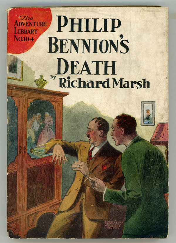 "PHILIP BENNION'S DEATH. Richard Bernard Heldmann, ""Richard Marsh."""