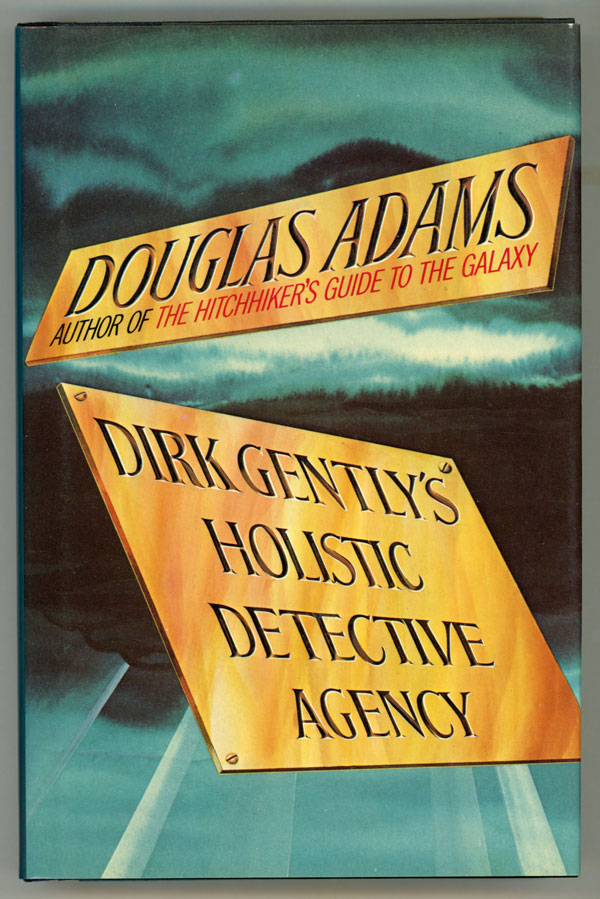 Dirk Gentlys Holistic Detective Agency Douglas Adams First Us
