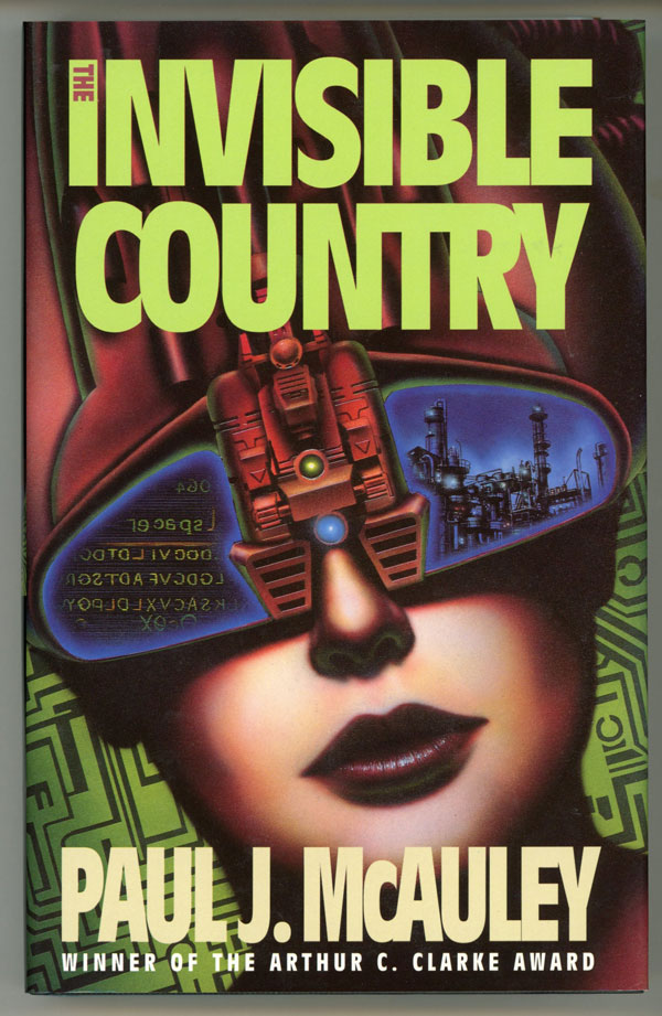 THE INVISIBLE COUNTRY. Paul J. McAuley.