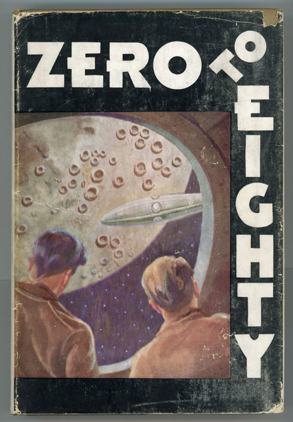 "ZERO TO EIGHTY: BEING MY LIFETIME DOINGS, REFLECTIONS, AND INVENTIONS, ALSO MY JOURNEY AROUND THE MOON. Edwin F. Northrup, ""Akkad Pseudoman."""