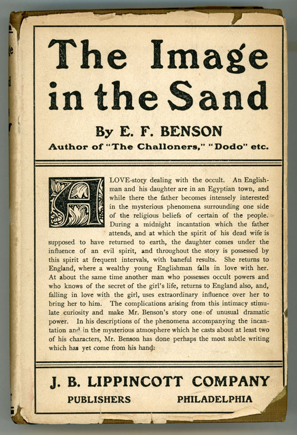 THE IMAGE IN THE SAND. Benson.