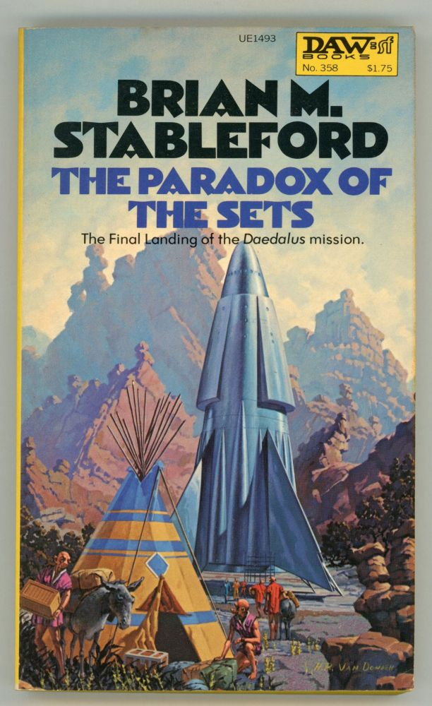 THE PARADOX OF THE SETS. Brian Stableford.