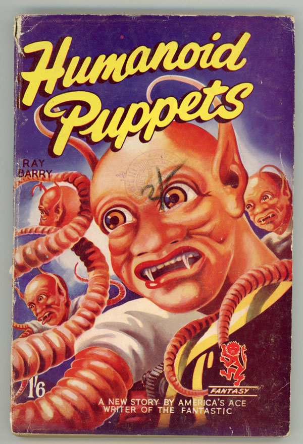 HUMANOID PUPPETS by Ray Barry [pseudonym]. Ray Barry, Dennis Talbot Hughes.