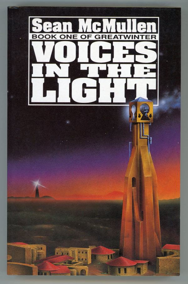 VOICES IN THE LIGHT. Sean McMullen.