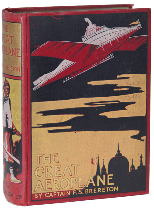 THE GREAT AEROPLANE: A THRILLING TALE OF ADVENTURE. Brereton.