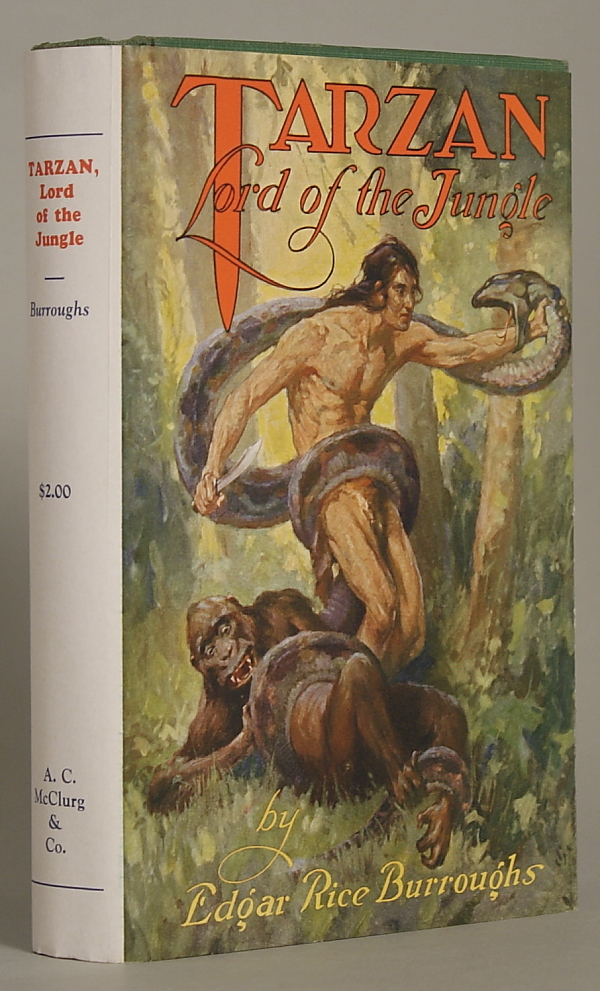 TARZAN LORD OF THE JUNGLE. Edgar Rice Burroughs.