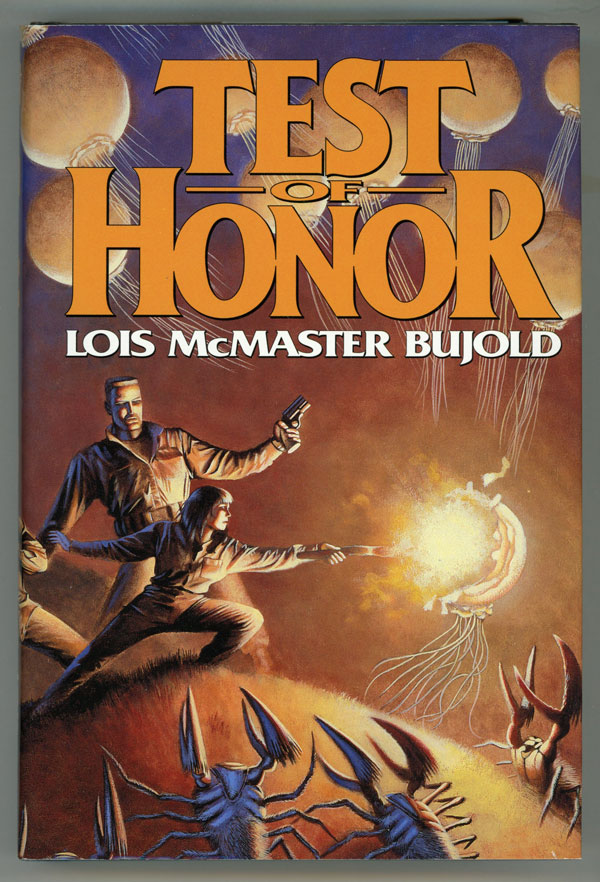 TEST OF HONOR: SHARDS OF HONOR [and] THE WARRIOR'S APPRENTICE. Lois McMaster Bujold.