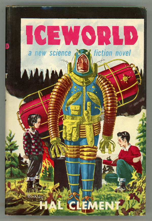 ICEWORLD. Hal Clement, Harry Clement Stubbs.